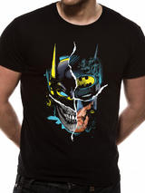 Batman Joker Gotham Face Design Mens T-Shirt Top S