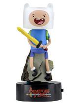 Adventure Time Body Knocker Solar Powered Model Finn 15cm