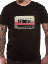 Guardians Of The Galaxy 2 Mens T-Shirt Top Licensed Merchandise Tape XXL