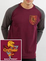 Harry Potter Baseball Sweatshirt Jumper House Gryffindor S