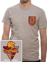 Harry Potter Mens T-Shirt Top Licensed Merchandise House Gryffindor L