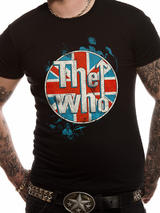 The Who Mens T-Shirt Top Licensed Merchandise Logo Standing XL