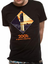 2001 A Space Odyssey Obelisk Mens T-Shirt Top S