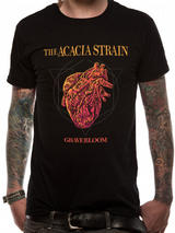 Acacia Strain Gravebloom Mens T-Shirt Top S
