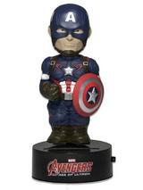 Avengers Body Knocker Solar Powered Model Captain America 15cm