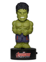 Avengers Body Knocker Solar Powered Model Hulk 15cm