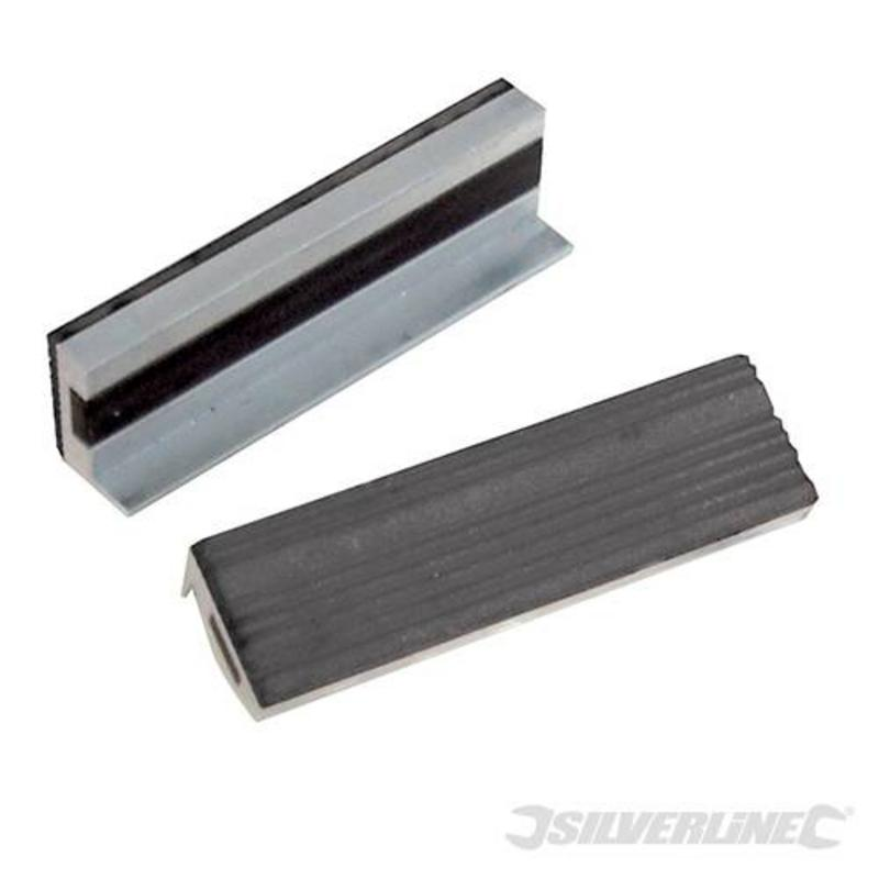 Silverline Soft Vice Jaws 100Mm