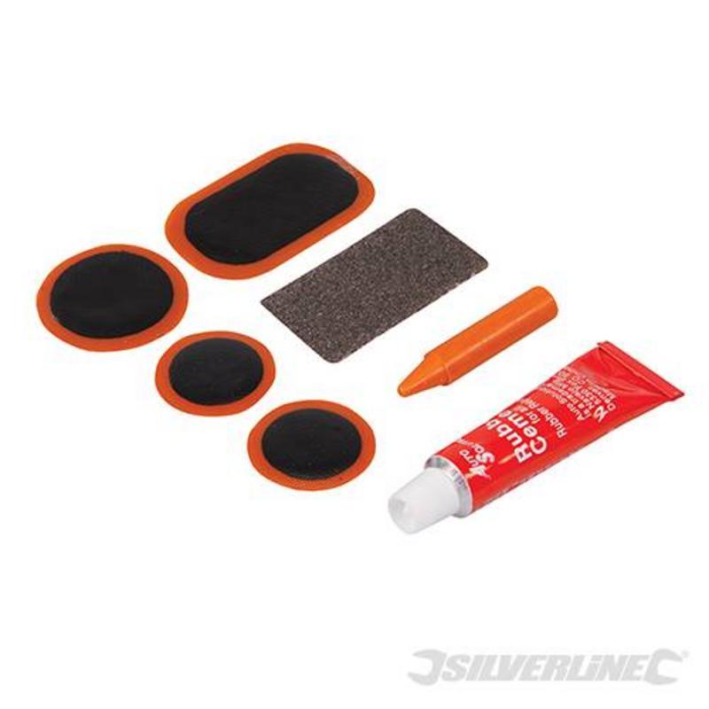 Silverline 7 Piece Bike Puncture Repair Kit