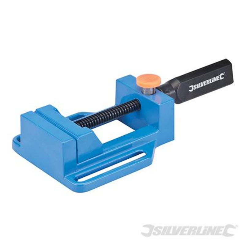 Silverline Drill Press Vice 65Mm