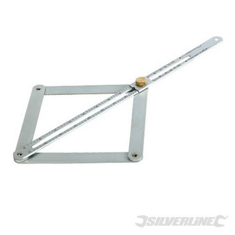 Silverline Bevel Protractor 380Mm
