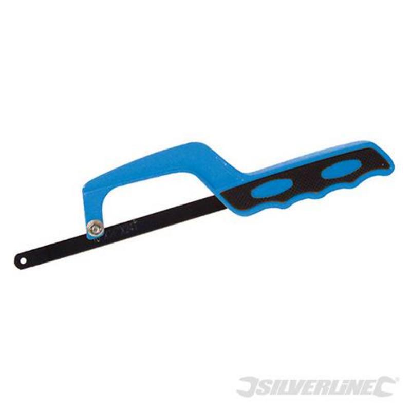 Silverline Close Quarter Hacksaw 250-300Mm Blade