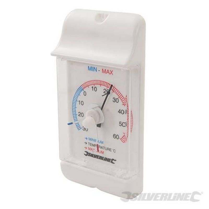Silverline Dial Thermomenter -30?C To 60?C