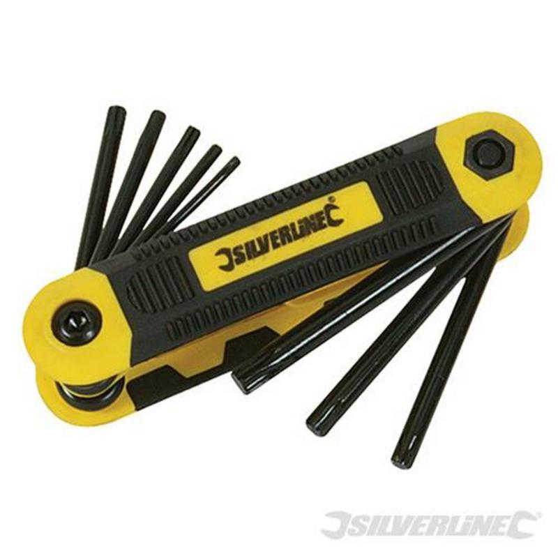 Silverline 8 Piece Metric Trx Tool T9-T40