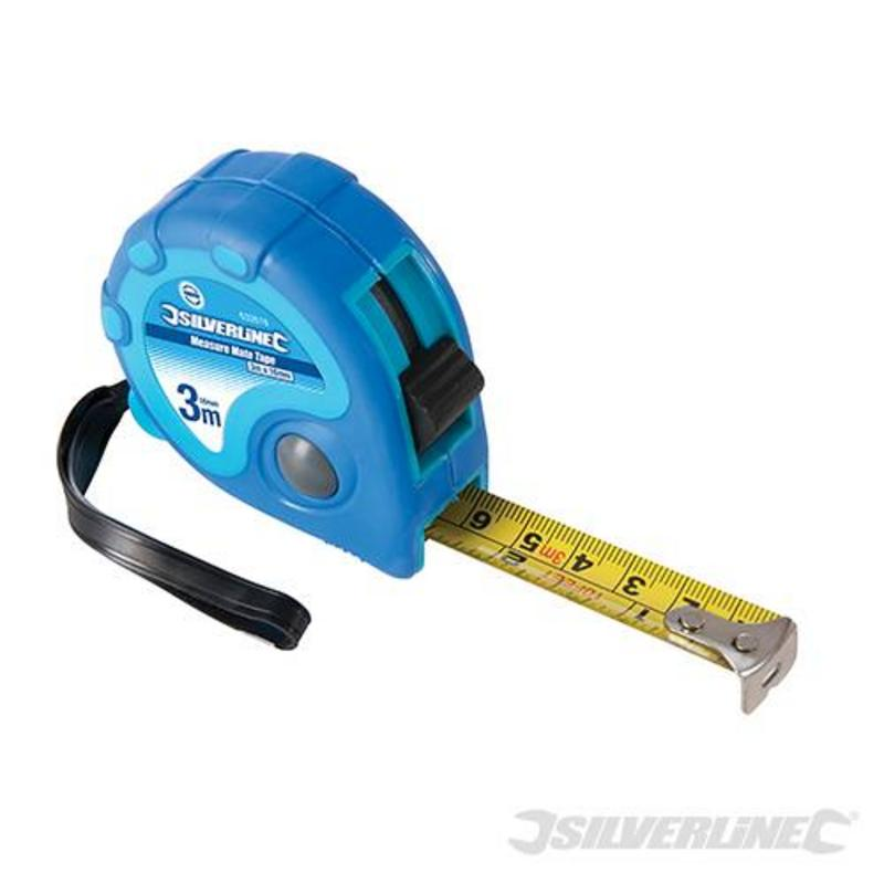 Silverline Measure Mate Tape 3M X 16Mm