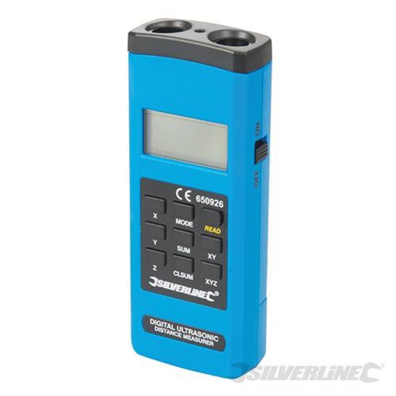 Silverline Digital Range Measure 0.55-15M