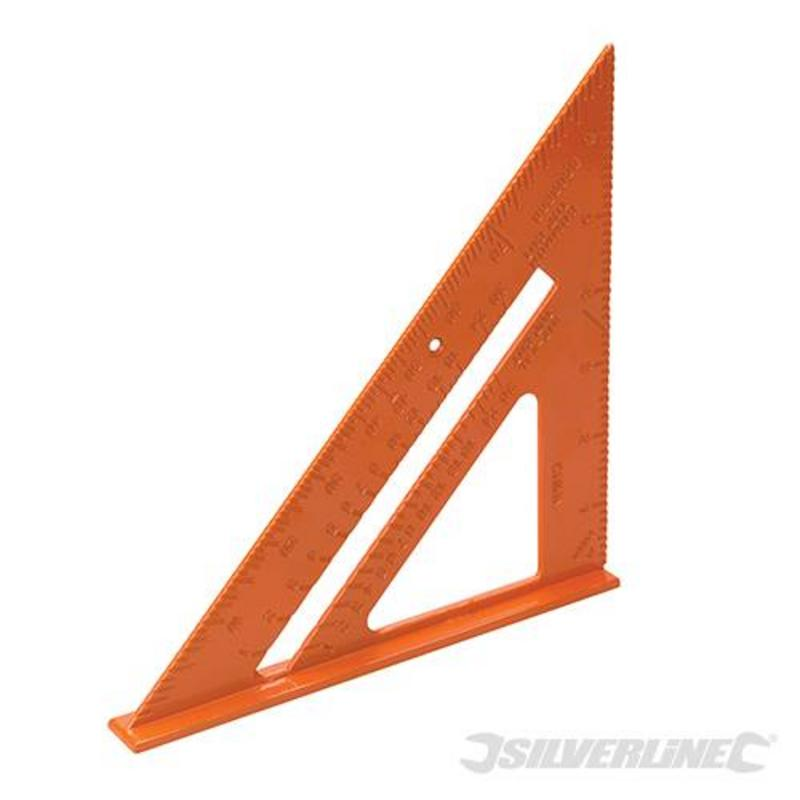 Silverline Aluminium Alloy Roofing Square 7""