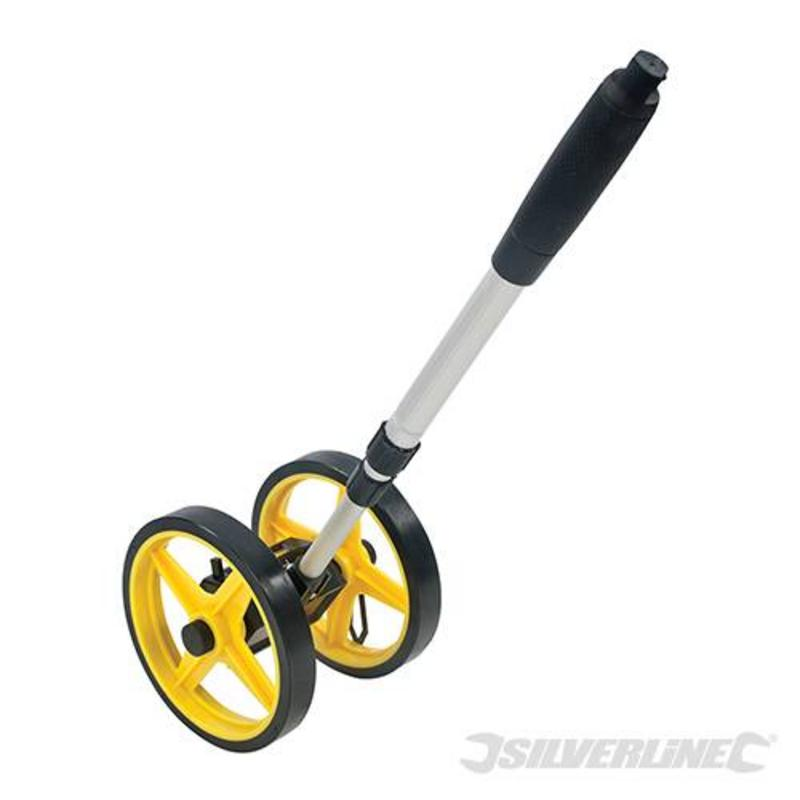 Silverline Mini Measuring Wheel 0-9999.9M