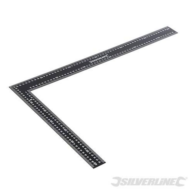 Silverline Steel Framing Square 600 X 400Mm