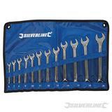 Silverline 12 Piece Combination Spanner Set 6-22Mm