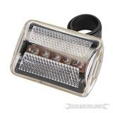 Silverline 5 Led Bike Clear Light