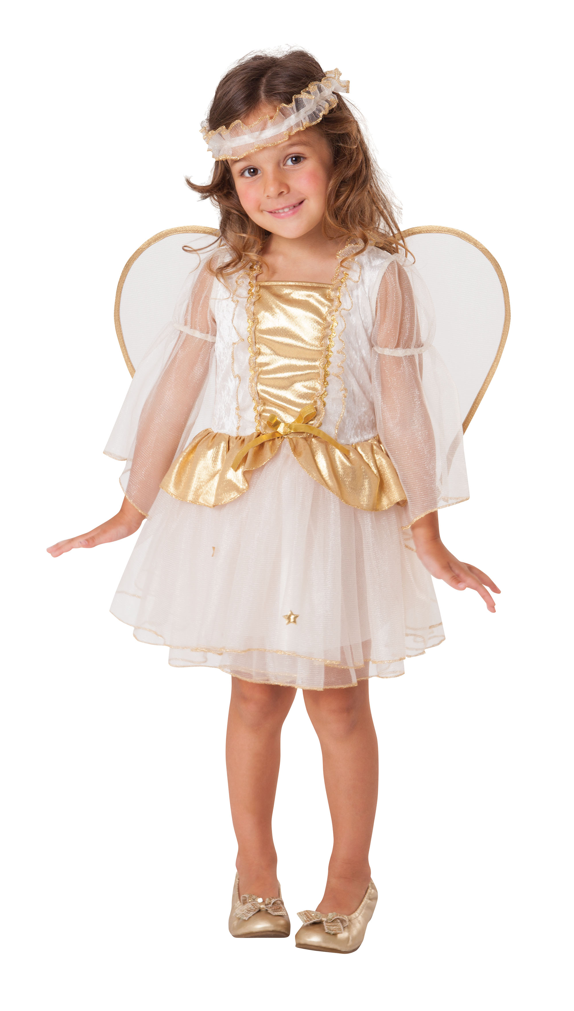Kids Child Angel Fancy Dress Costume Toddler Christmas ...