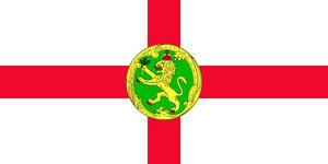 Alderney 3' X 2' 3ft x 2ft Flag With Eyelets Premium Quality
