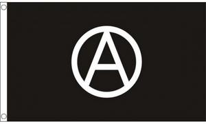 Anarchy 3' X 2' 3ft x 2ft Flag With Eyelets Premium Quality