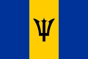 Barbados Rhianna Carribean 3' X 2' 3ft x 2ft Flag With Eyelets Premium Quality