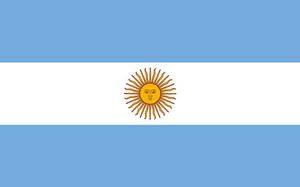 Argentina Argentinian 3' X 2' 3ft x 2ft Flag With Eyelets Premium Quality