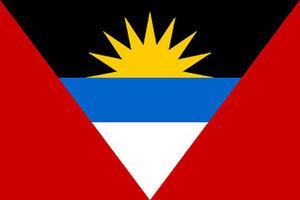 Antigua & Barbuda Carribean 3' X 2' 3ft x 2ft Flag With Eyelets Premium Quality
