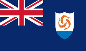 Anguilla 3' X 2' 3ft x 2ft Flag With Eyelets Premium Quality