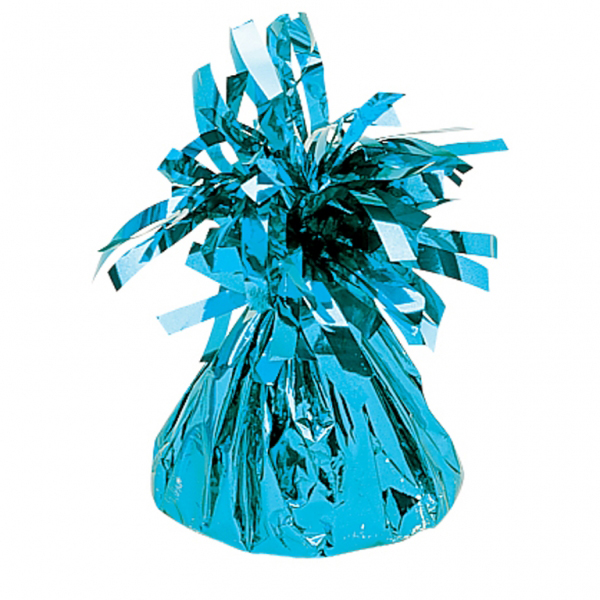 Amscan Foil Tassels Balloon Weight Birthday Party Wedding Decoration Baby Blue