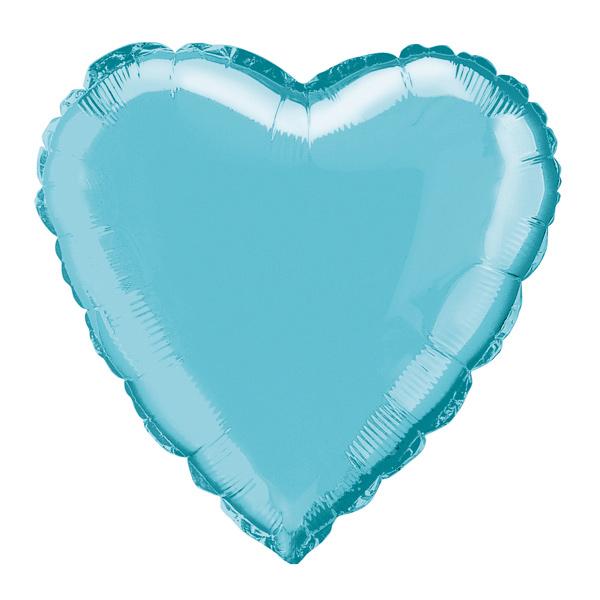"18"" Heart Foil Balloon Birthday Party Wedding Valentines Decoration Baby Blue"