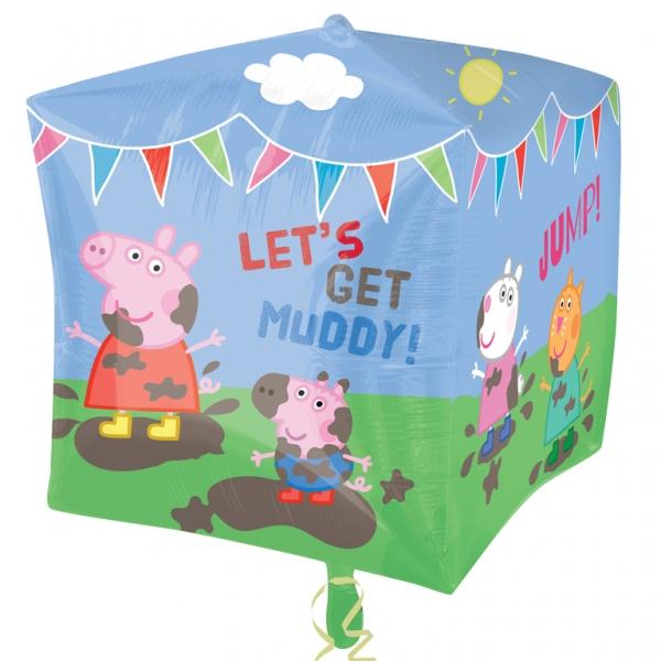 Sentinel Anagram Supershape Cubez Peppa Pig Friends Balloon Birthday Party Decoration