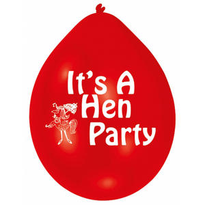 Amscan Minipax Its A Hen Party Balloon Bride To Be Wedding Decoration Pack Red