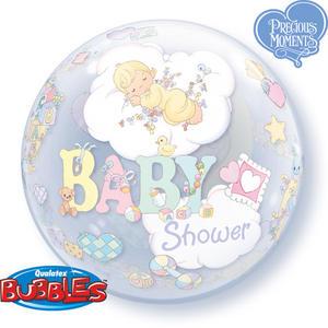 "Qualatex 22"" Single Bubble Baby Shower Balloon Party Celebration Decoration"