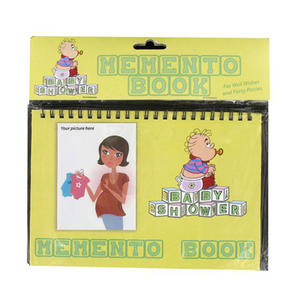 Alandra Memento Book Mum To Be Baby Shower Party Gift Accessory Yellow