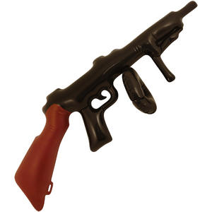 Henbrandt Inflatable Tommy Gun Alcapone Birthday Party Decoration Black