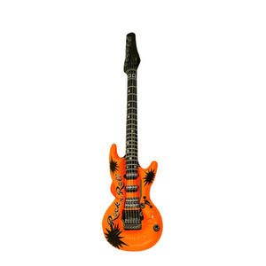Henbrandt Inflatable Guitar Rock Star Birthday Party Decoration Orange
