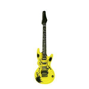 Henbrandt Inflatable Guitar Rock Star Birthday Party Decoration Yellow