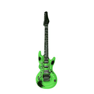 Henbrandt Inflatable Guitar Rock Star Birthday Party Decoration Green