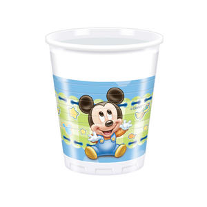 8 Baby Mickey Mouse 7Oz Plastic Cups Disney Birthday Party Baby Shower Cup