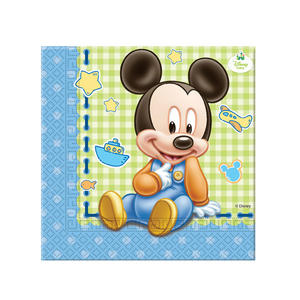 20 Baby Mickey Mouse Lunch Napkins Disney Birthday Party Baby Shower Serviette
