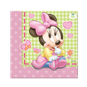20 Baby Minnie Lunch Napkins Disney Birthday Party Baby Shower Serviette