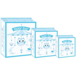 Eurowrap 3PCS Book Box - Baby Boy