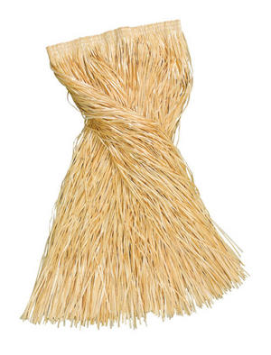 Adult Grass Skirt Hula Girl Plain 80Cm Long Hawaiian Fancy Dress