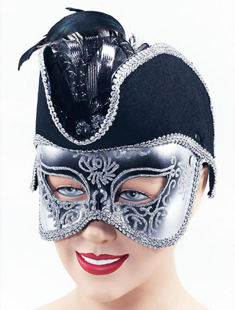 Pirate Mask On Band Masquerade Ball Fancy Dress