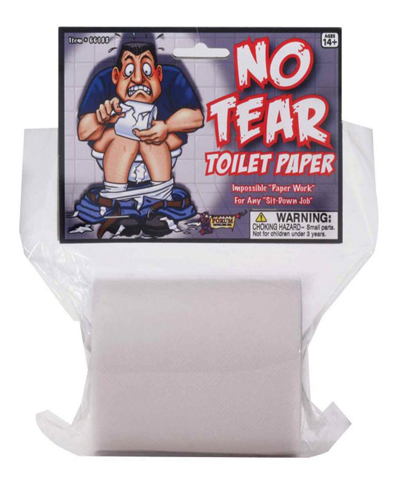 Joke Toilet Roll Paper Non Tear Sheets Stocking Filler