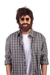 Alan The Hangover  Wig & Beard Fancy Dress