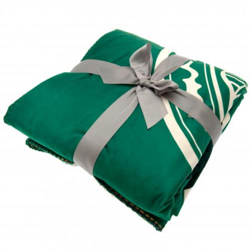 Celtic Fc Sherpa Fleece Blanket